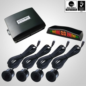 Car low cost LED parking sensor