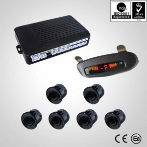 Front and rear parking sensor