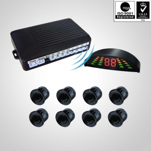 Wireless front rear LED parking sensor